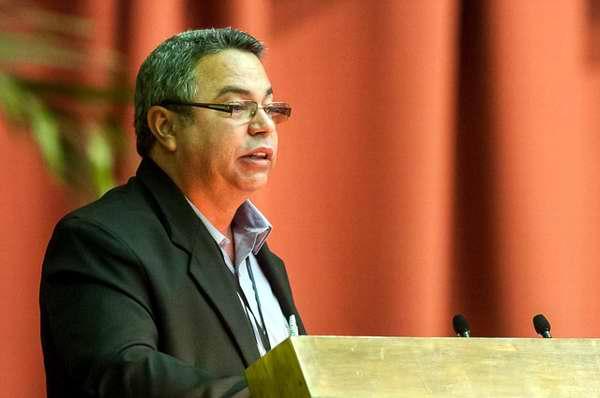Ulises Guilarte, nuevo secretario de la Central de Trabajadores de Cuba. Foto Calixto Llanes