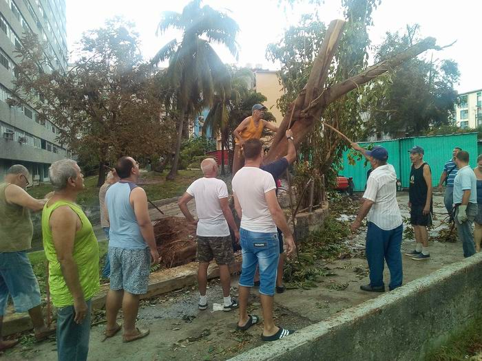 Avanza recuperación en el municipio Plaza de la Revolución. Foto: Carlos Serpa