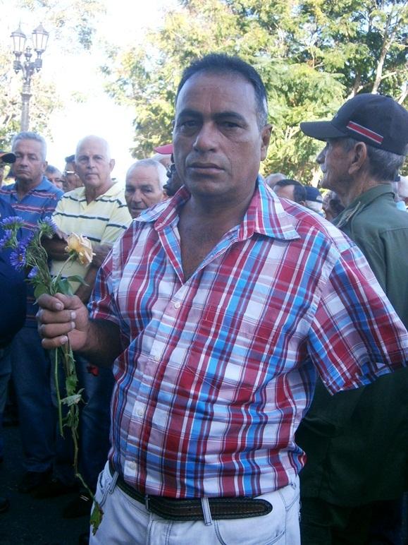 Vadimir Cruz, combatiente de Cuito Cuanavale