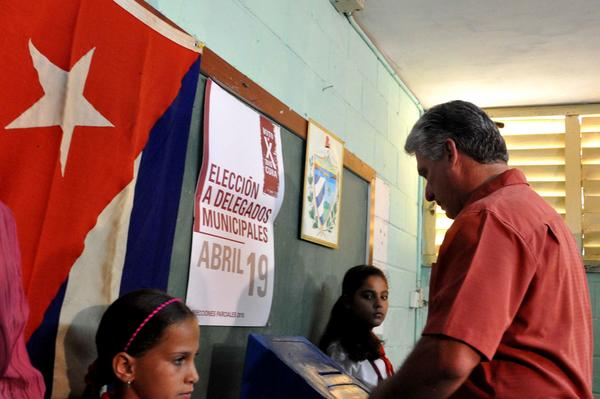 Cuba�s First Vice-President: Voting is a right