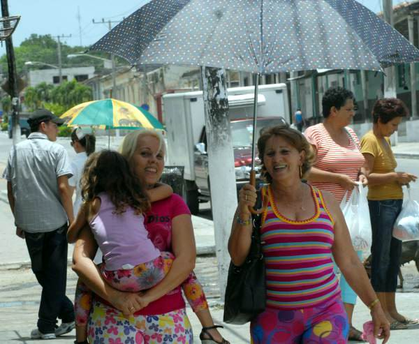 Sombrillas. Foto: Oscar Sosa