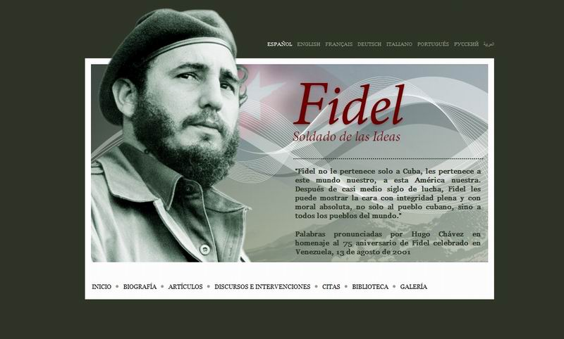 Fidel, soldado de las ideas (+Audio)