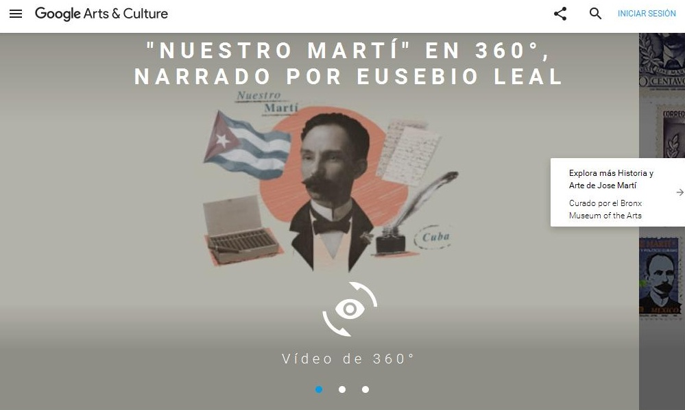 Short Movie on Jose Marti to be premiered by Google