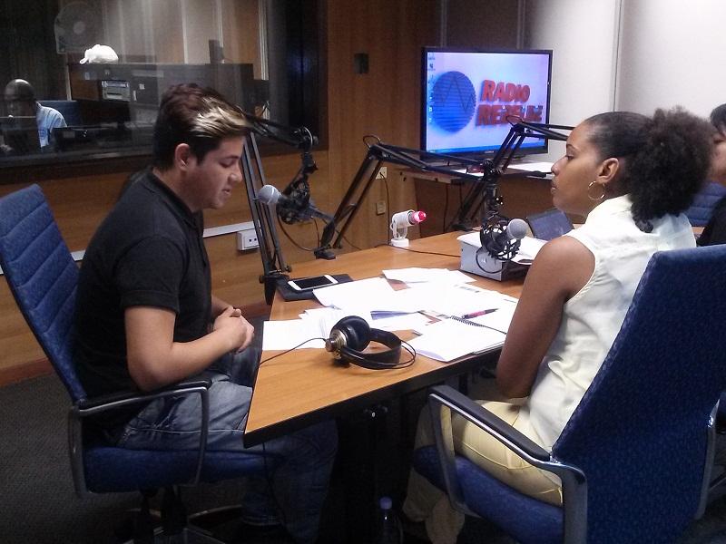 Especialista Principal de Comunicación de la Dirección Nacional de Joven Club, Alexander Díaz