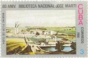 La filatelia y la Biblioteca Nacional de Cuba José Martí