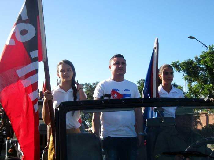 Rememoran salida de la Caravana de la Libertad desde Santiago de Cuba