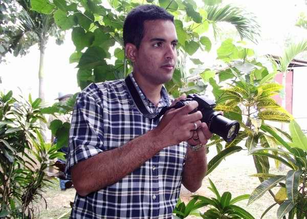 Abel Rojas, encontró su vocación en la fotografía. Foto Abel Rojas