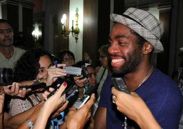En La Habana el reconocido actor brasileño Lázaro Ramos
