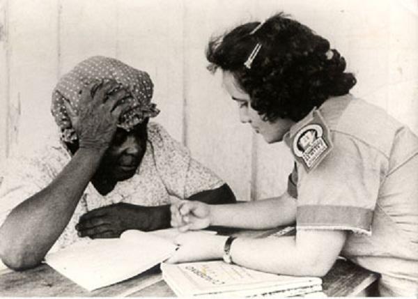 Campaña de alfabetización 1961