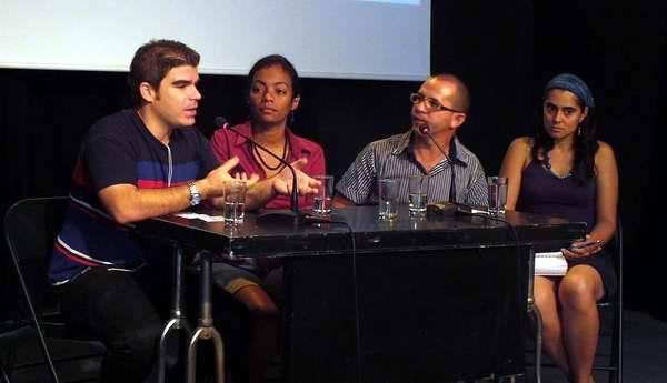 Comité Organizador del concurso periodístico Ania Pino in Memoriam. Foto Abel Rojas