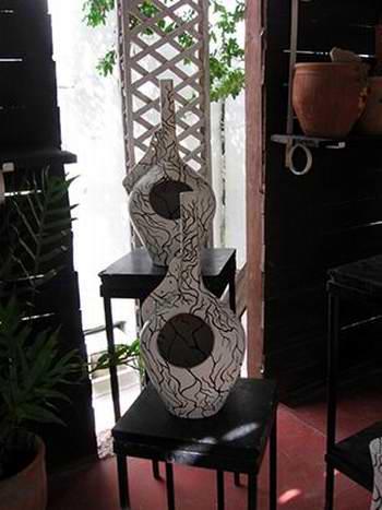 Muestra de la artesana Míriam Morales del Toro. Foto: Raymara García