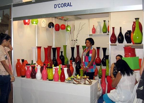 Piezas utilitarias de Danielly Rodríguez Simón en el stand D Coral