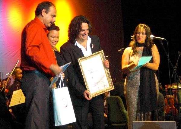 Silvio, Augusto Enríquez y yo