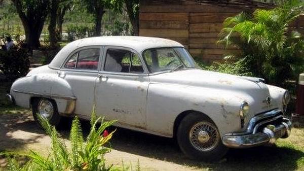 Auto de la época utilizado por Abel Santamaría en los preparativos para la toma del Moncada. Foto: Carlos Sanabia