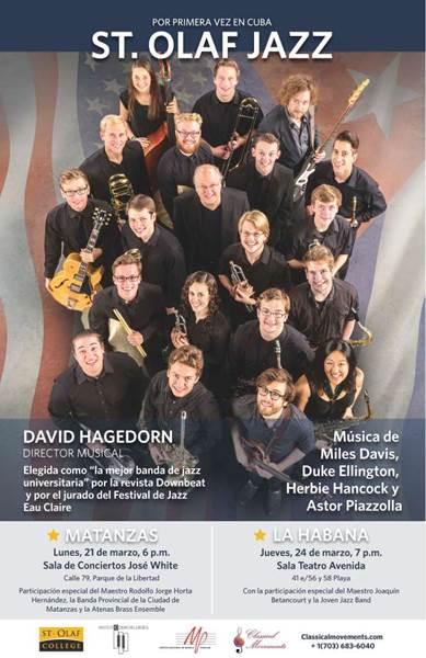 ST. Olaf Jazz Band de Estados Unidos, tocará en la ciudad de Rafael Somavilla