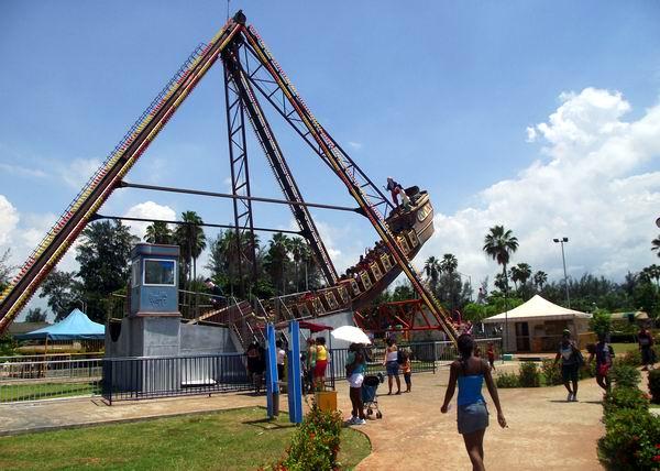 El barco volador en La Isla del Coco