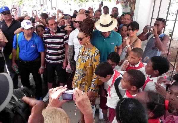 Beyonce en La Habana