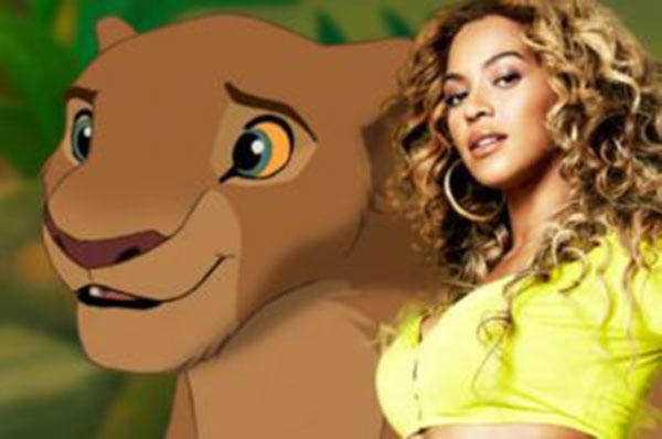 Beyoncé asumirá el personaje de Nala en el remake de El Rey León