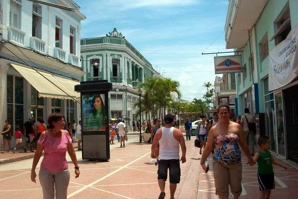 Boulevar de Cienfuegos. Foto: Mireya Ojeda