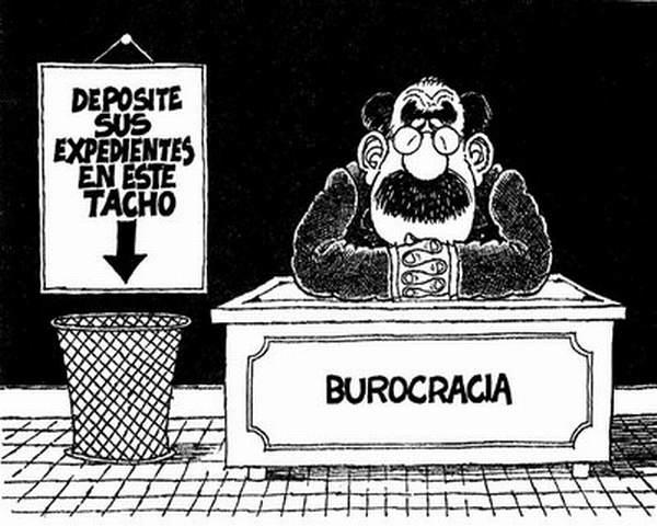 La burocracia, un obstáculo para vencer