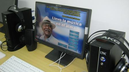 Cabina de audio en el Complejo Hist�rico del III Frente. Foto Carlos Sanabia