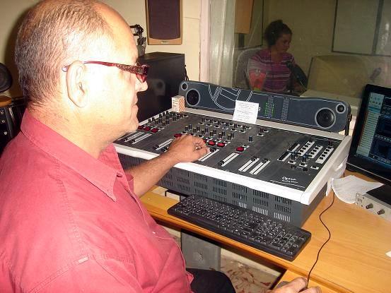 Radio SG. Foto: Aroldo García