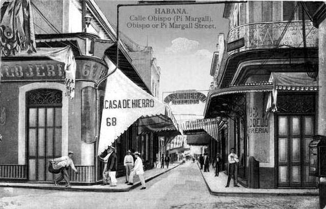 Calle Obispo 1905