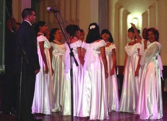 Camerata Vocal Música Áurea, de Cuba, a cita olímpica de Londres 2012