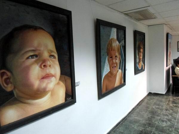 Propone artista de la pl�stica Yoandry C�ceres exposici�n personal en galer�a de Radio Rebelde
