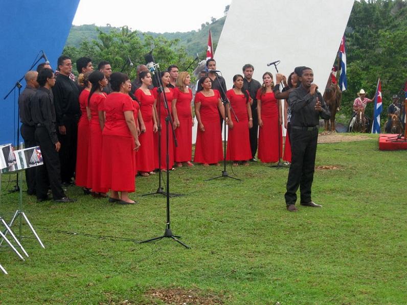 Cantata por los 90 a�os de Fidel (+ Audio)