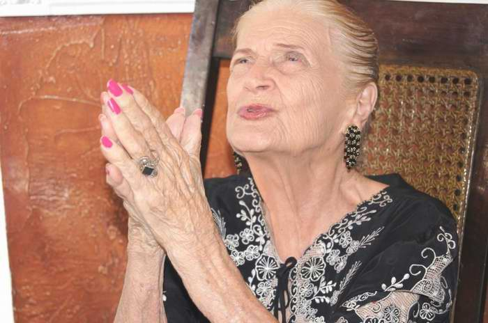 Premio nacional de poesía, Carilda Oliver. Fotos: José Miguel Solís