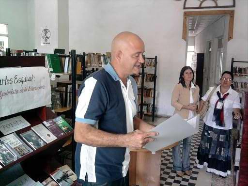 De gala Carlos Esquivel en la versi�n tunera de la Feria del Libro