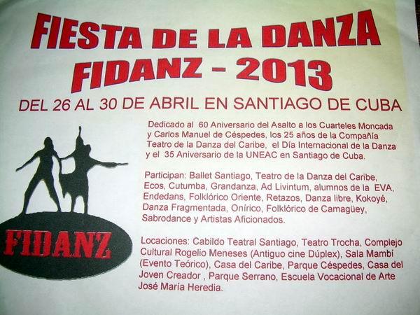 Sede Santiago de Cuba del Encuentro Nacional de la Danza