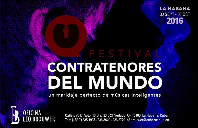 Comienza en Cuba Festival Contratenores del mundo