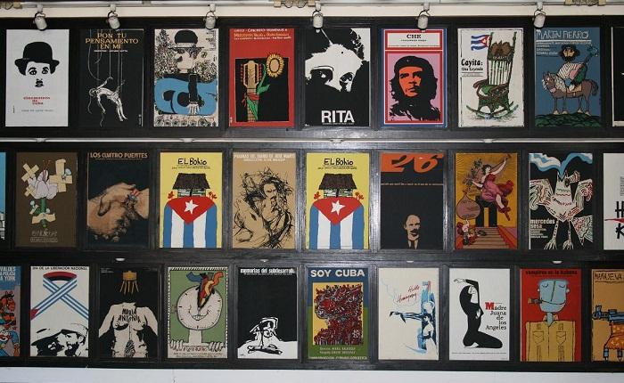 Inscriben Carteles cubanos de cine en Programa Memoria del Mundo de la Unesco