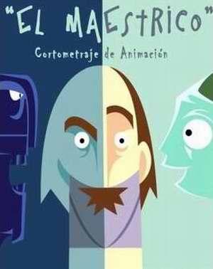 Cartel del animado cubano El maestrico de Isis Chaviano