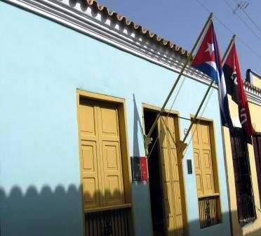 Museo Casa Natal de Frank País, ubicado en la calle General Banderas, entre Habana y Los Maceos