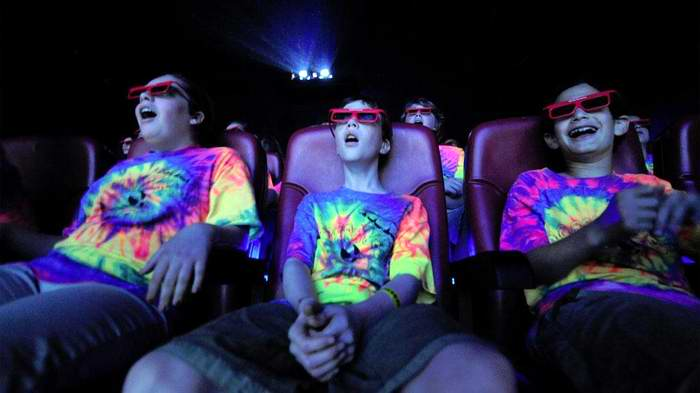 Algunas Salas de cine y su programación en sistema 3D