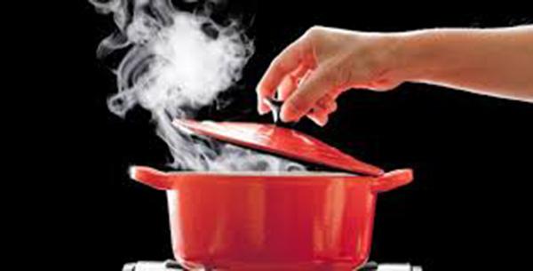 En la cocina cuidado con las altas temperaturas