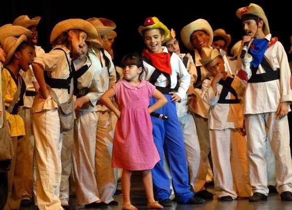Grupo de teatro infantil La Colmenita
