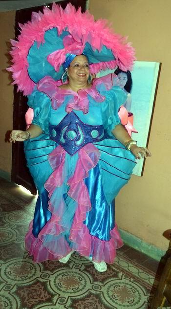 Fuera de todo estereotipo: Willy y sus voluminosas de Cuba. En la foto la bailarina Adelaida Oñate