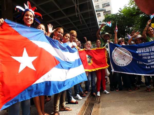 En La Habana jóvenes y estudiantes a Ritmo de Festival (+Fotos)