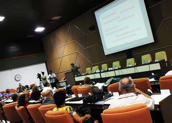 del XIII Congreso Internacional de Información (Info 2014). Foto Abel Rojas
