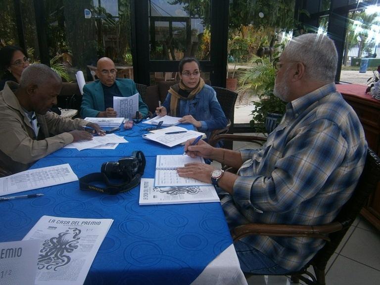 Conferencia de prensa en Cienfuegos