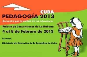 Intercambian en Pedagogía 2013 sobre formación de docentes