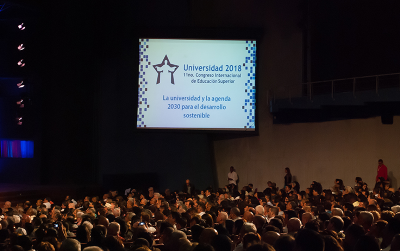 Universidad 2018 Congress Begins in Havana