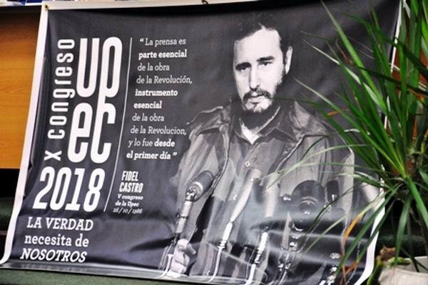 Inicia hoy Décimo Congreso de los periodistas cubanos