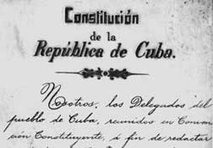 La Constitución de Jimaguayú vuelve a ser noticia