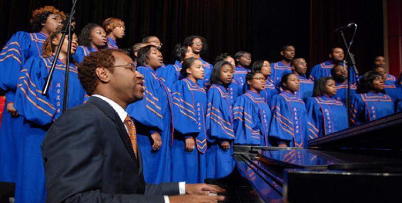 Se present� en Cienfuegos el Coro de Morgan State University