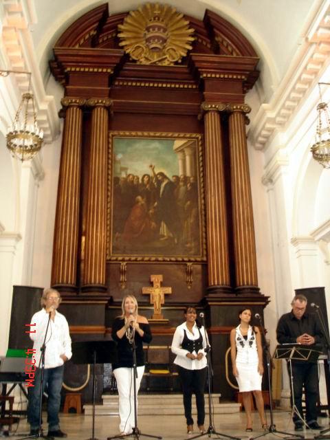 El Coro Nuestra América ofrece su música.